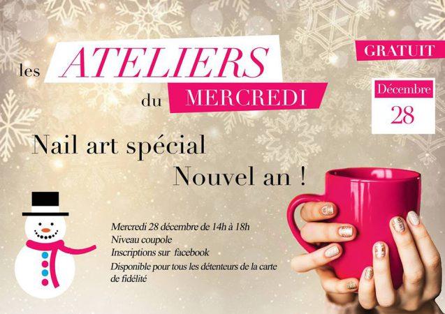 Atelier nail art gratuit Montpellier