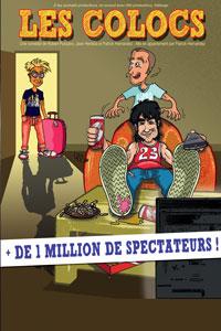 Pièce de théâtre Les Colocs Montpellier