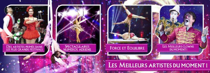 Spectacle de cirque Montpellier