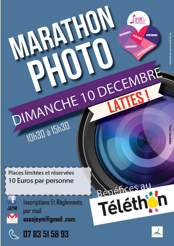 marathon photo lattes_telethon affiche finale
